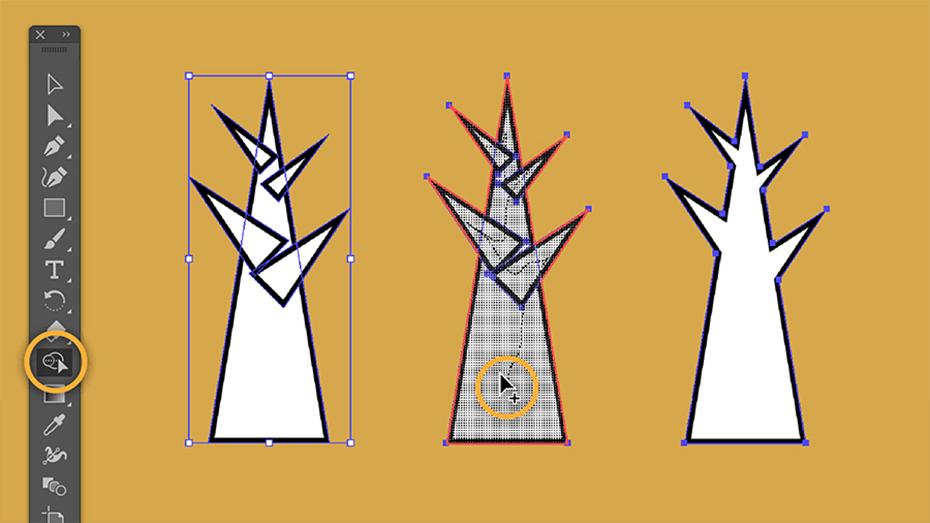 szkolenie adobe illustrator moduł 1 akademia it media tworzenie prostych kształtów
