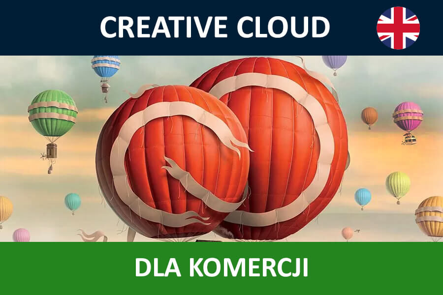 Adobe Creative Cloud for Teams All Apps nowa subskrypcja COM ENG