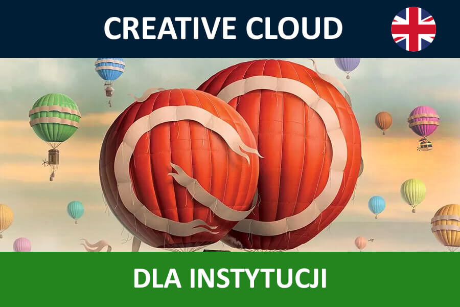 Adobe Creative Cloud for Teams All Apps nowa subskrypcja GOV ENG