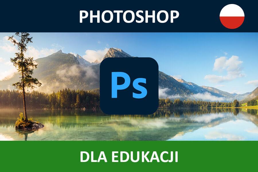 Adobe Photoshop CC for Teams nowa subskrypcja EDU MULTI/PL