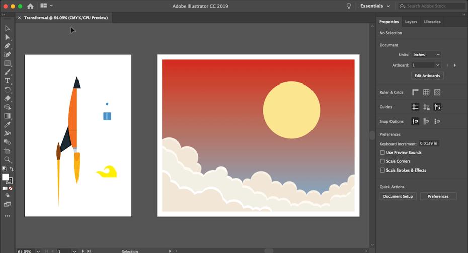 kurs grafiki komputerowej moduł 1 adobe illustrator