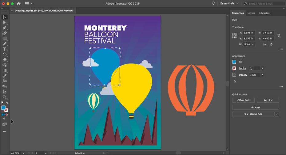 kurs grafiki komputerowej moduł 2 adobe illustrator