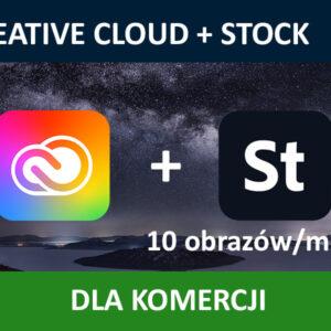 Adobe Creative Cloud Stock 10 COM ENG