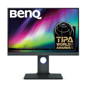 BenQ SW240 monitor fotografa
