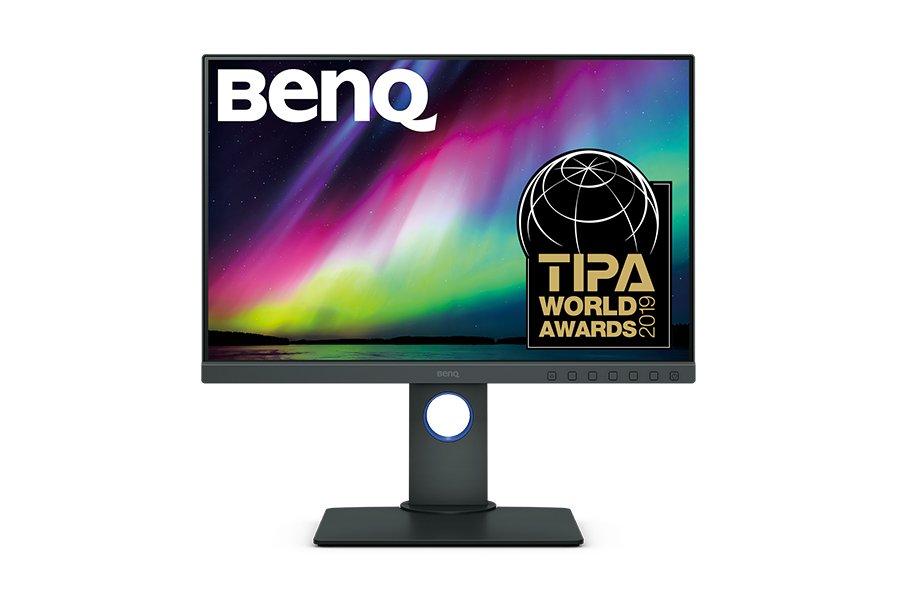 Monitor dla fotografa BenQ SW240 + oryginalny kaptur SH240