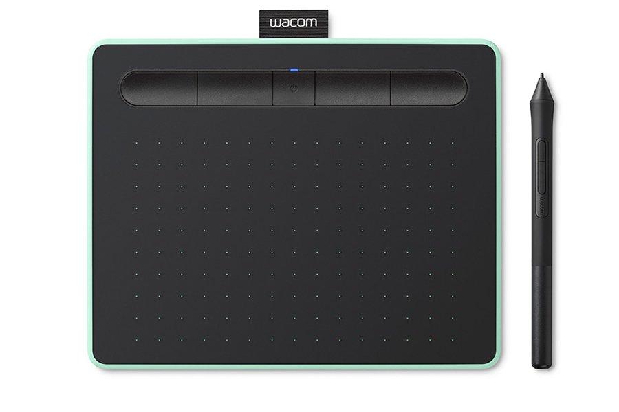 Tablet graficzny Wacom Intuos S Bluetooth Pistachio