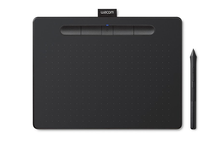 Tablet graficzny Wacom Intuos M Bluetooth Black
