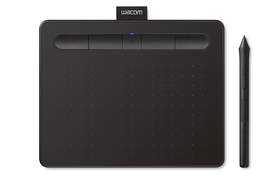 Tablet graficzny Wacom Intuos S Bluetooth Black