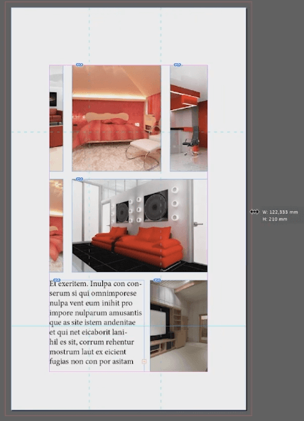 page tool adobe indesign