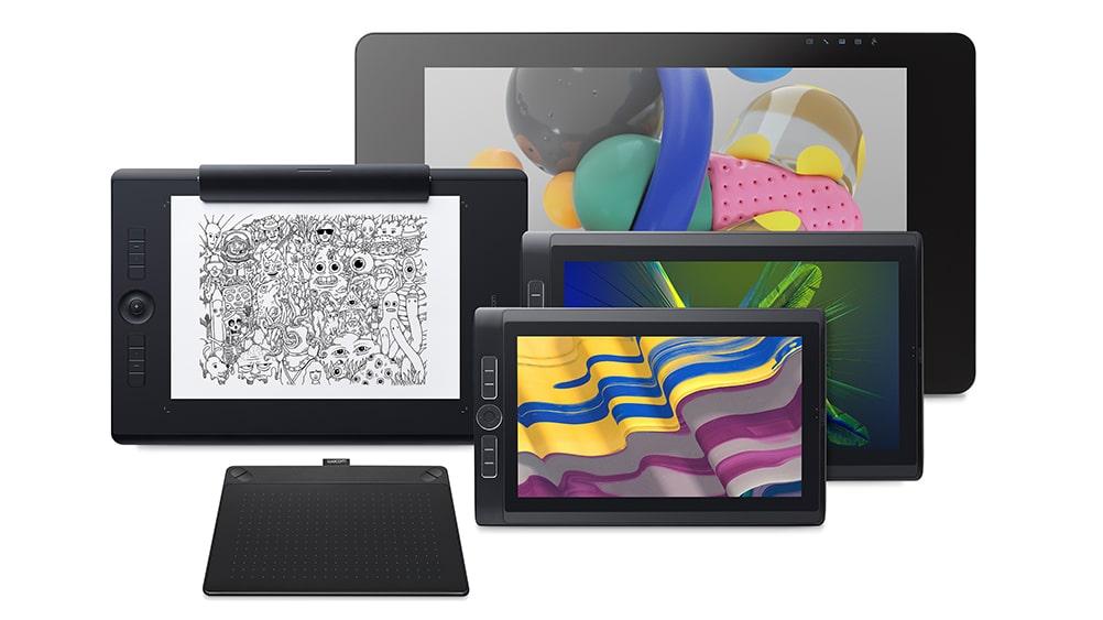 Wacom - Rodzaje tabletów graficznych