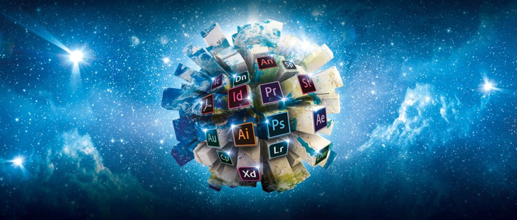 Najpopularniejsze programy Adobe CC baner