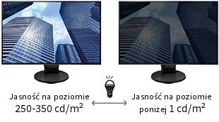 EV2360 regulacja jasności