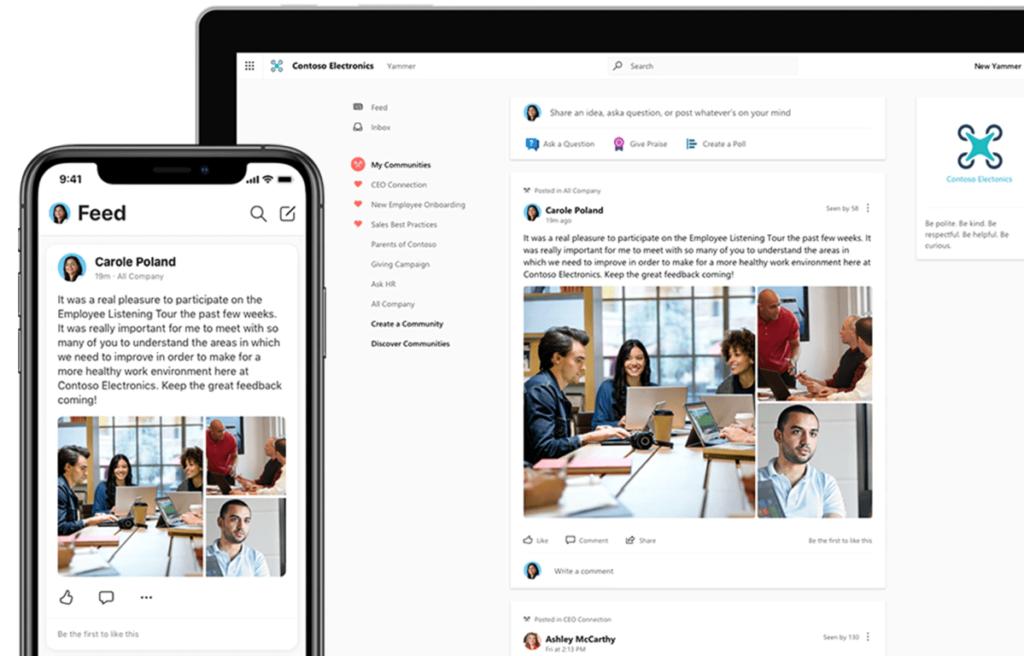 Microsoft 365 Business Standard Yammer