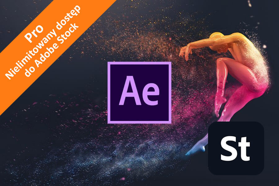 Adobe After Effects CC for Teams – Pro nowa subskrypcja COM ENG