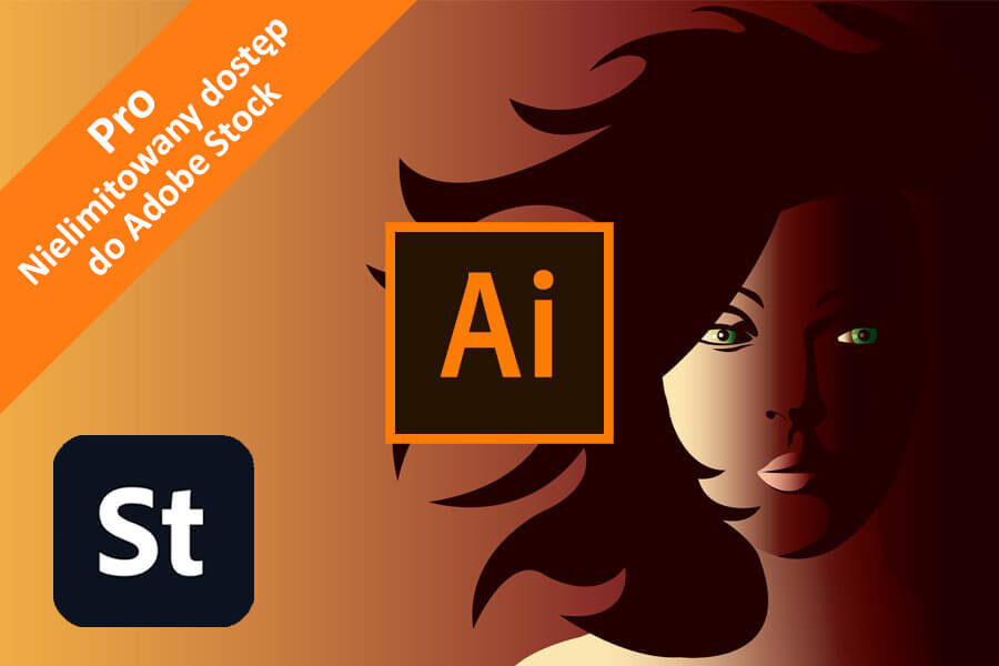 Adobe Illustrator CC for Teams – Pro nowa subskrypcja COM MULTI/PL
