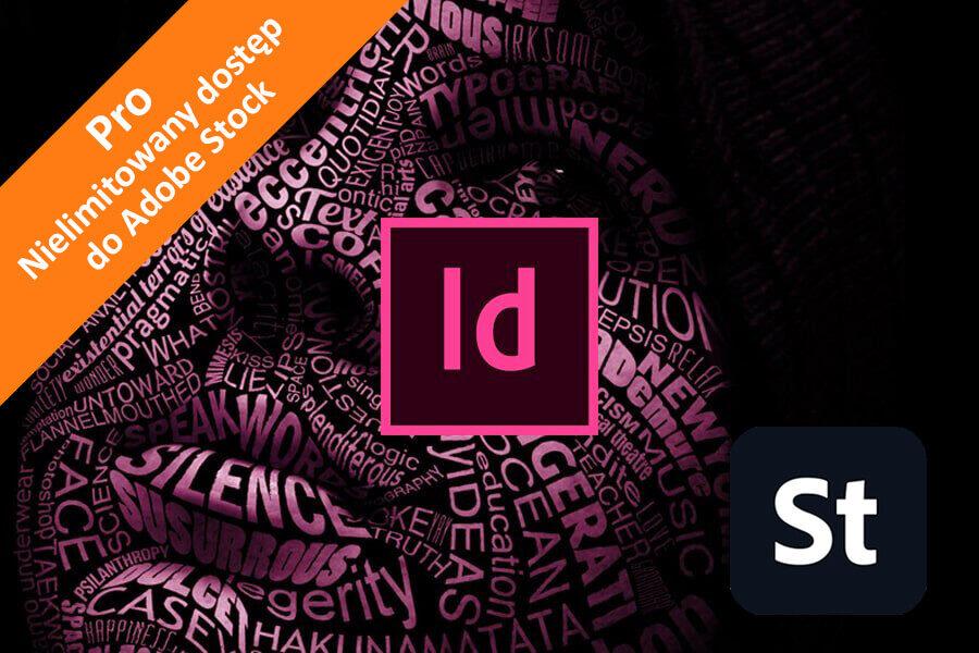 Adobe InDesign CC for Teams – Pro nowa subskrypcja COM MULTI/PL