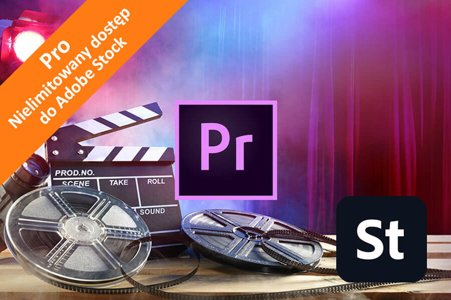 Adobe Premiere Pro CC for Teams – Pro nowa subskrypcja COM ENG