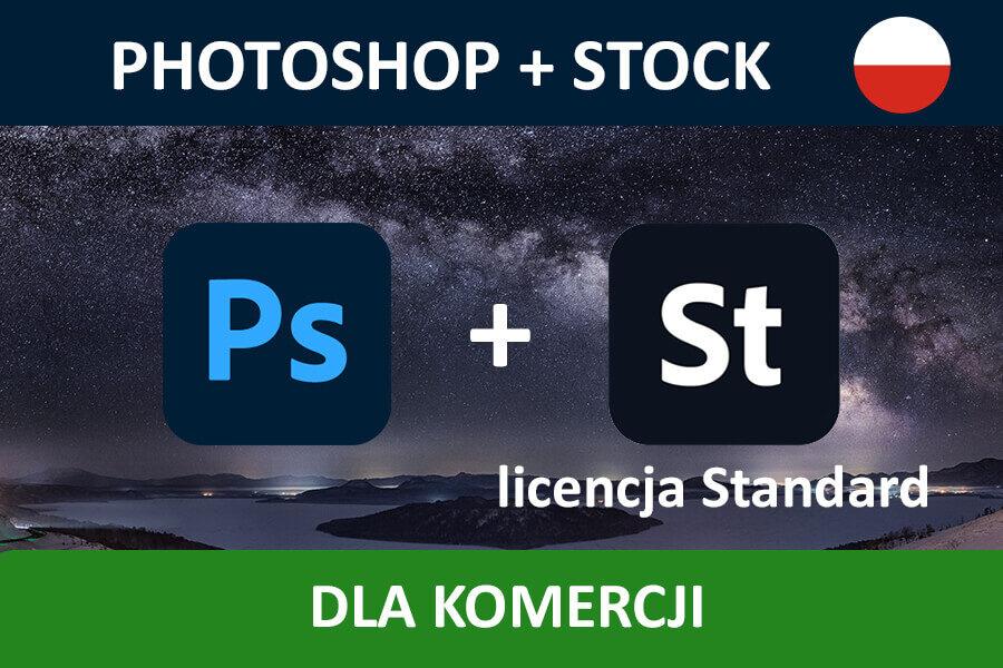 PHOTOSHOP PRO for Teams – nowa subskrypcja COM MULTI/PL + Adobe Stock