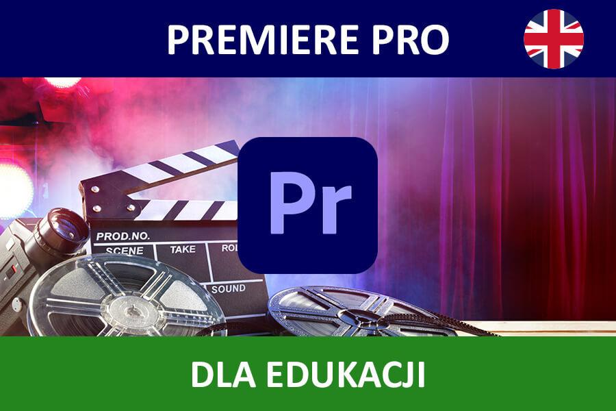 Adobe Premiere Pro CC for Teams nowa subskrypcja EDU ENG