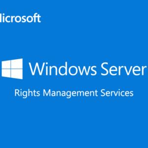 Windows Server Rights Management Services